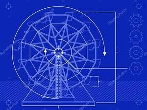 Ferris Wheel Diagram  U2014 Stock Vector  U00a9 Bigldesign  9325645