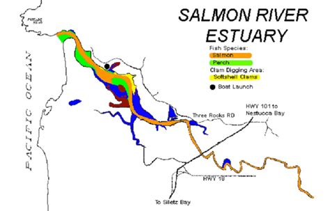 Boat Launch Pulaski Ny by Mackay Bar Salmon River Map Images Frompo