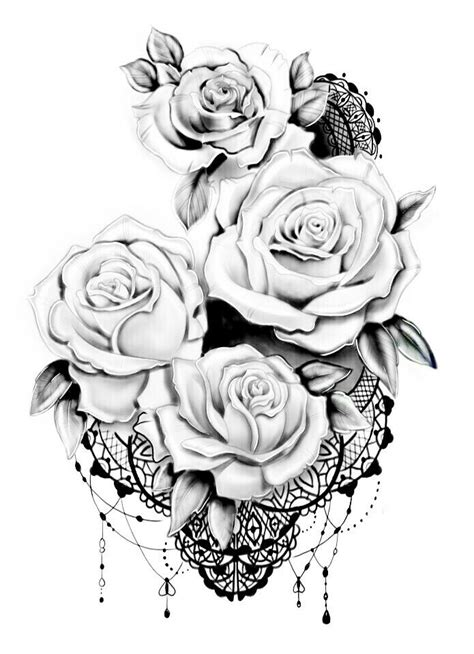 Pin by Laura McGee on tattoo | Tattoos, Flower tattoos, Lace tattoo design