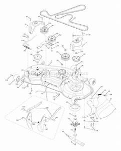 Husqvarna Yth 2348 Parts List And Diagram
