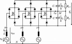 Power Circuit Of A Unidirectional  Three