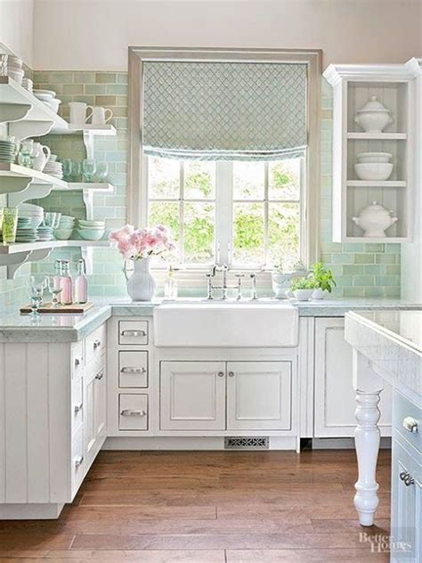 Menards Gray Subway Tile by Best 20 Shabby Chic Kitchen Ideas On Pinterest Country