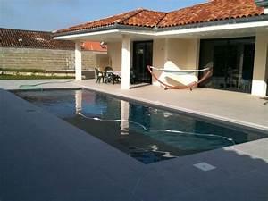 piscine 8x4 liner couleur gris canon de fusil plage With piscine avec liner gris clair