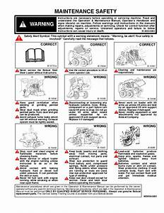 Bobcat 753 Skid Steer Loader Service Repair Manual  Sn 515830001