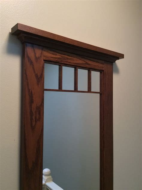 craftsman style wall mirror  splinter  lumberjocks