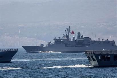 Turkish Mediterranean Naval Navy Countries Eastern Drill