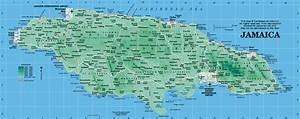 Jamaica Map - Map of Jamaica from Caribbean-On-Line Jamaica