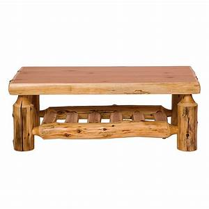 cedar log coffee table cabin place With log cabin coffee table