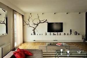 renovation et decoration d39un appartement moderne With decoration petit appartement moderne