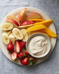 Healthy Fruit Dip with Greek Yogurt