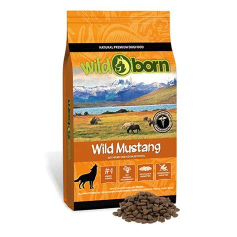 wildborn wild mustang petsfirst tiernahrung
