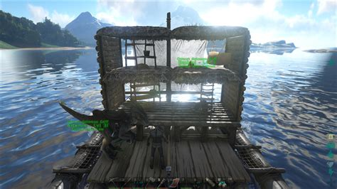 Ark Raid Boat Designs by It S Basic But I Really Like My Raft Playark