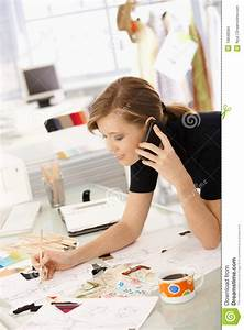 Fashion Designer At Work Stock Images - Image: 18848584