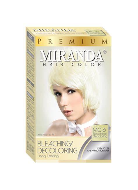 Miranda Bleaching / Decoloring Mc-6 30Ml+30g   KlikIndomaret