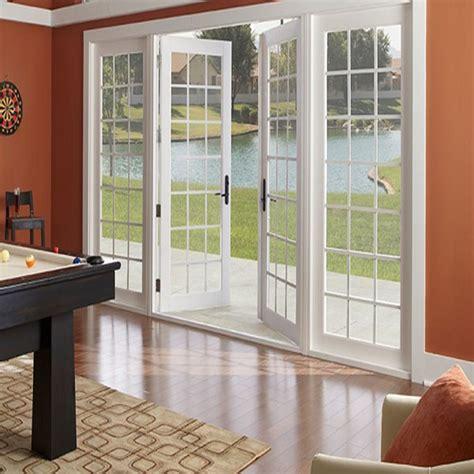double glass soundproof commercial aluminum glass swing door