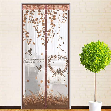 18 magnetic screen garage door curtain decor23