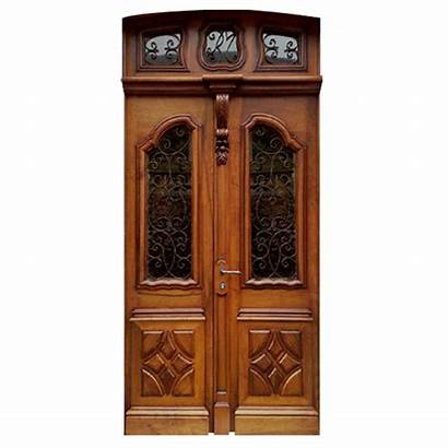 Door Wood Glass Regal Panels Carved Doors