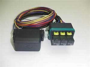 Universal Waterproof Fuse Relay Box Panel Car Truck Atv