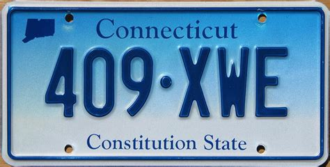 Dmv Ct Vanity Plates by Connecticut License Plate States License Plates