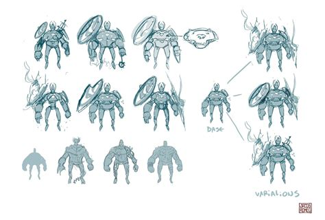 jacob romeo  character design process demo