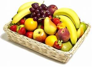 Panier A Fruit : panier de fruits points de cerise violette ~ Teatrodelosmanantiales.com Idées de Décoration