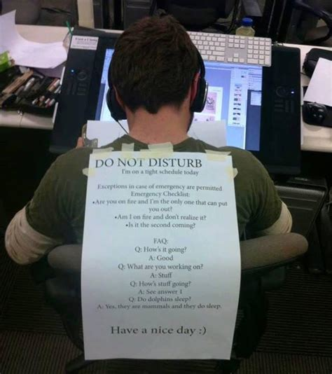 how does do not disturb work on iphone this with a do not disturb poster on his back is an 2329