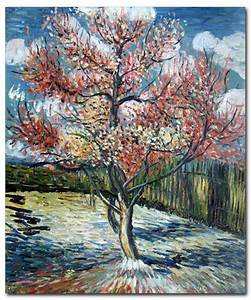 Peach Trees in Bloom - van Gogh Paintings | Famous Art ...