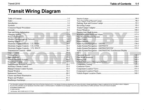 Ford Transit Wiring Diagram Manual Original