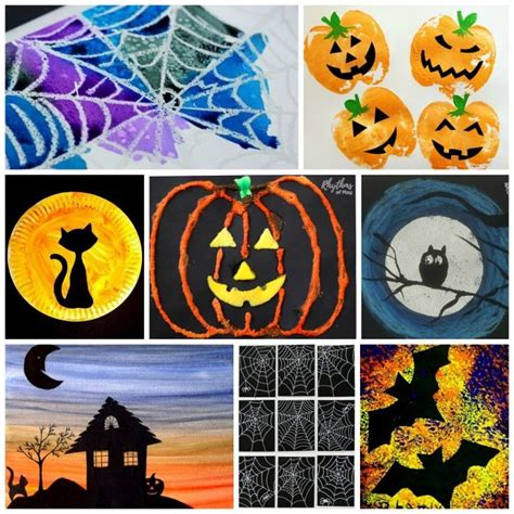 Halloween Art Projects Kids Love!  Rhythms Of Play