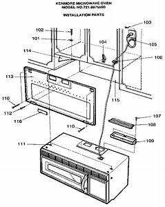Kenmore Microwave Oven Parts