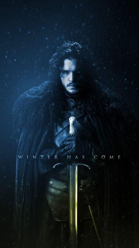 game  thrones season  jon snow kit harington winter