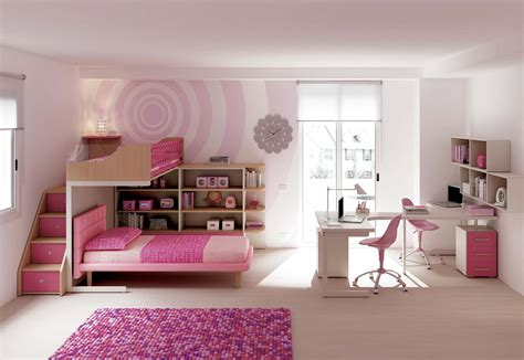 chambre pour fille chambre fille avec lit superpose paihhi com