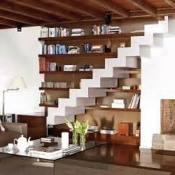 livingroom storage 15 living room stairs storage ideas shelterness