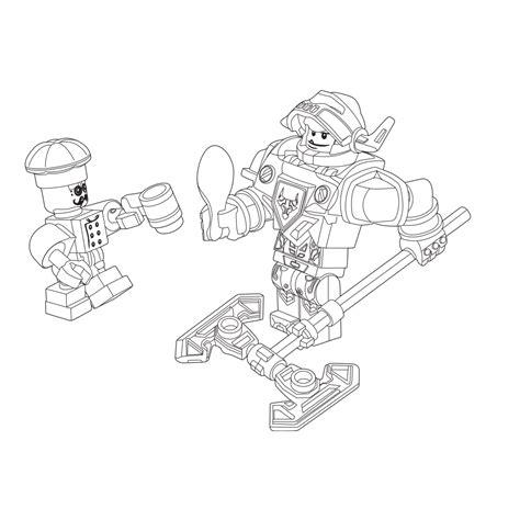 Kleurplaat Ridder Lego by Leuk Voor Kleurplaat Lego Nexo Knights Ridder Axl