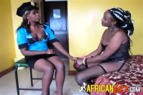 Nigerian Lesbians In Police Uniform Real Amateur Sex EPORNER