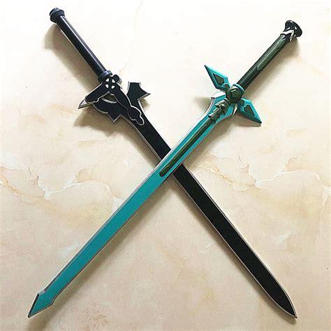 kirito sword asuna dark repulser kirigaya kazuto yuuki cosplay sao prop swords elucidator christmas weapons colors aliexpress shopping