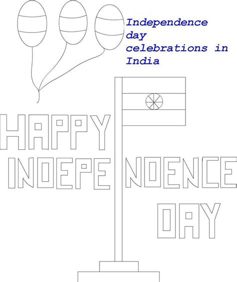Indian Independence Day Coloring Pages by Indian National Flag Coloring Printable Page For