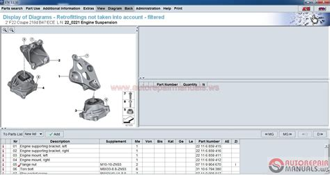 Bmw Etk Spare Parts Catalog [11.2016] Full + Instruction