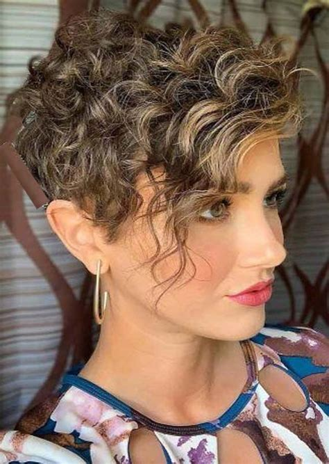 Click through to see all the different ways to cut and style a pixie of different hair colors, types the top pixie haircuts of all time. Best Short Curly Haircuts for Women to Show Off Nowadays in 2020   Pixie haircut for thick hair ...