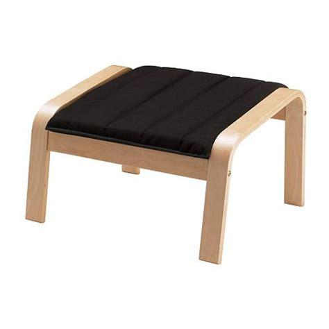 repose pied bureau ikea poäng footstool cushion alme black ikea