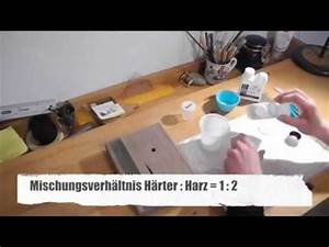 Epoxidharz Gießen Anleitung : how to epoxidharz tutorial gie en in holz tipps tricks crystal epoxy resin tutorial ~ Yasmunasinghe.com Haus und Dekorationen