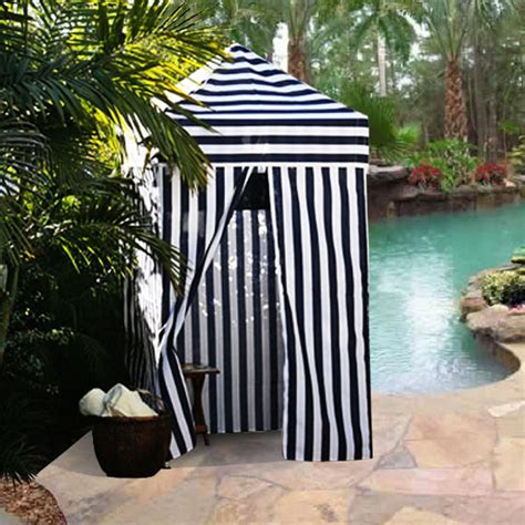 changing portable cabana stripe room privacy tent pool camping outdoor ez pop  ebay
