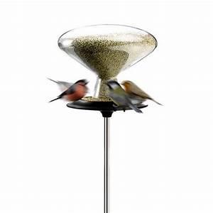 Mangeoire Oiseaux Sur Pied : mangeoire oiseaux pied bird table 5l eva solo zendart design ~ Teatrodelosmanantiales.com Idées de Décoration