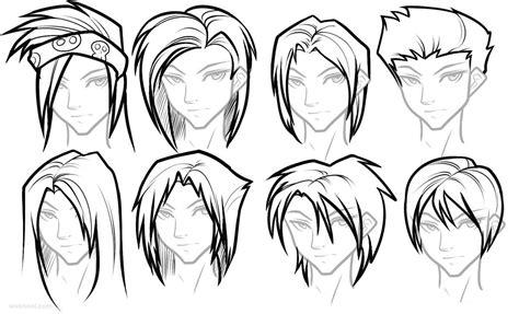 How To Draw Female Girl's Anime Hairstyles ⋆ Anime & Manga