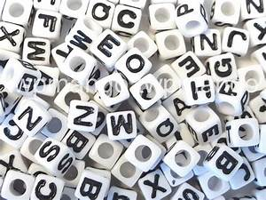 250 acrylic abc letter alphabet cube beads 7mm n35 With lucite alphabet letters