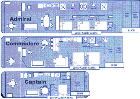 Houseboat Layout by Home Design House Boat Floor Plans