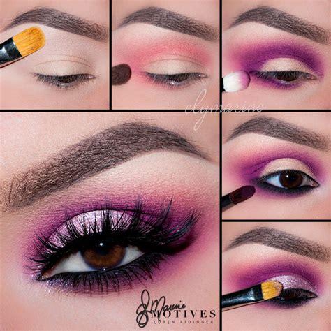Get Look by Get The Look Bold Pink Eyeshadow Tutorial Loren S World