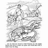 David Coloring Goliath Pages Bible Story Testament Printables King Saul Printable Stories Samuel Shepherd Kills Boy Ot Colouring Children Sling sketch template