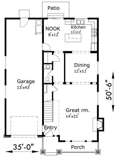 Vaulted Master & Tandem Garage - 8176LB | 2nd Floor Master