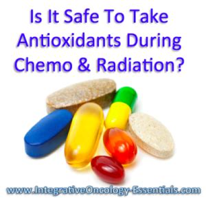 antioxidants  cancer treatment integrative